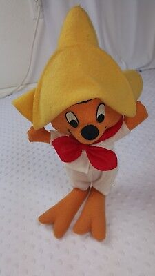 WARNER BROS. Speedy Gonzales 1971 Plush