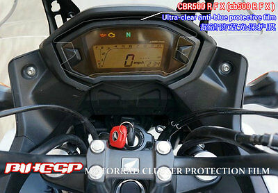 Cluster Scratch Protection Film Blu-ray Protector for honda CBR500R/F/X cb500R/F