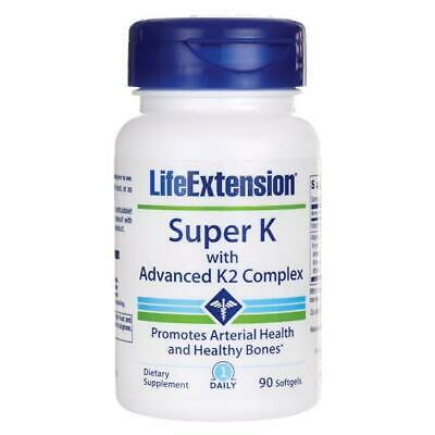 Life Extension Super K with Advanced K2 Complex 90 Sgels