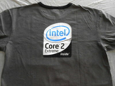 Intel Core 2 Extreme Promo T-shirt (Size: L) NEW Free Shipping