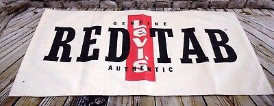Genuine Authentic Levi's Red Tab Jeans Display Sign Two Sided Advertising Cloth