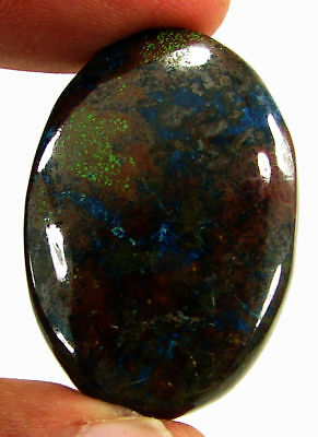 56.55 Ct Natural Azurite Loose Cabochon Gemstone Designer Stone - 18160