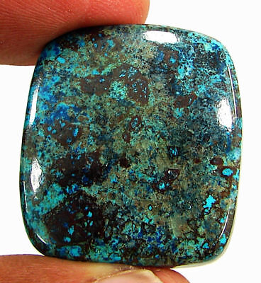 45.65 Ct Natural Azurite Loose Cabochon Gemstone Designer Stone - 18161