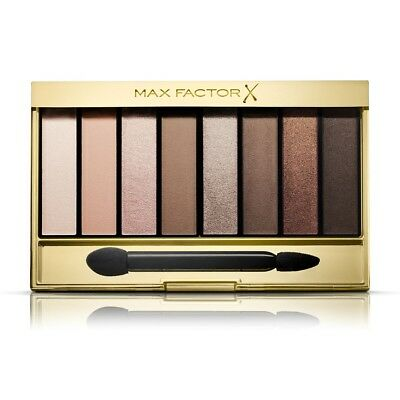 Max Factor Masterpiece Nude Cappuccino Eyeshadow Palette Matte, Satin,Shiny