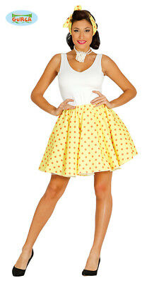 1950s Womens Yellow Pin Up / Housewife Costume
