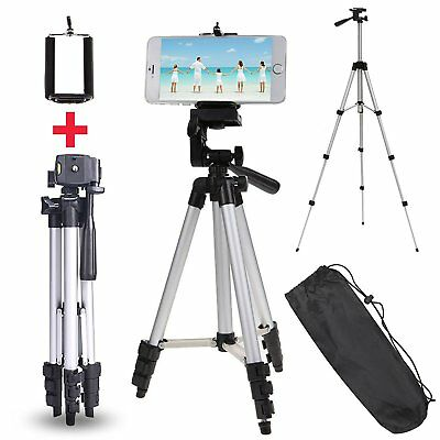 Professional Aluminum Tripod Stand Holder For Digital Camera SLR Smart Phones