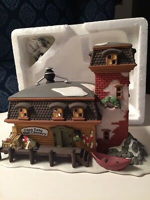 Dept 56 New England Village series Cape Keag Fish Cannery