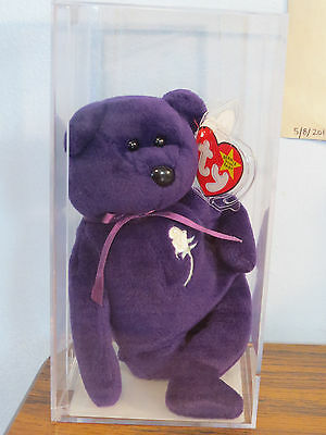 1st Addition ULTRA RARE, PRINCESS Diana Bear AUTHENTICATED Ty Beanie Baby!! 1997