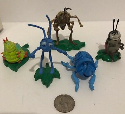 A Bug's Life Mini Die Cast Gift Set 1998 Disney/Pixar Collection Thinkway Toys