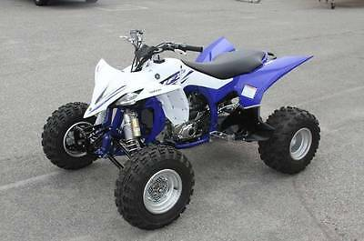 yfz450r complete set of plastics Brand New White and Blue