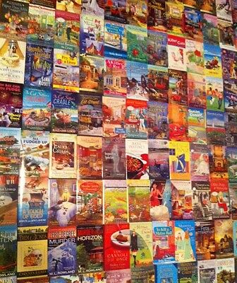 MYSTERY Paperback Book Lot ALL NEW CONDITION 14 Books FREE SHIPPING