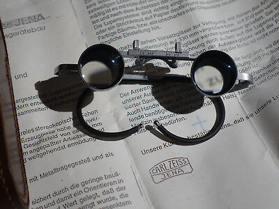 Lupenbrille Carl Zeiss Jena 2,3 x