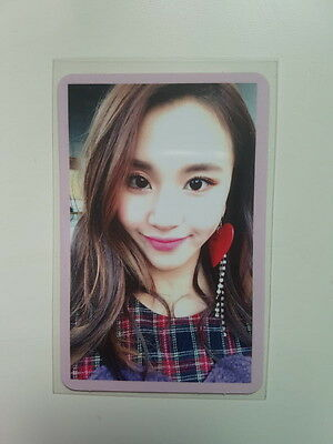 TWICE TWICECOASTER : LANE 2 Album Knock Knock Chaeyoung Photocard Pink Ver