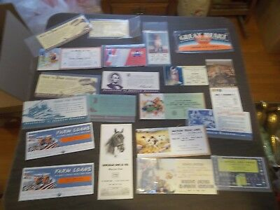 Vintage Lot Old Misc. Advertising Ink Blotters Railroad Coal Insurance Etc.!