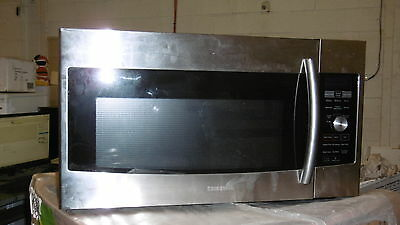 "Samsung ME179KFETSR 30"" Stainless OTR Microwave with Convection NOB #13204"