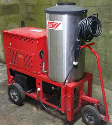 Used Hotsy 980SS Hot Water 1PH / Diesel 4GPM @ 2000PSI Pressure Washer