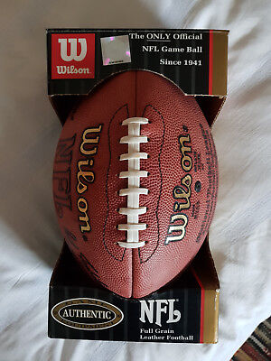 Wilson Official NFL Game Football (1993-2005) Paul Tagliabue Signature