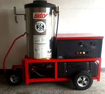 Used Hotsy 1410SS Hot Electric / Diesel 4GPM @ 3000PSI Pressure Washer