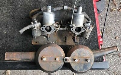 MG Midget, Austin Healey Sprite, SU HS2 Carburetors Thru Intake Manifold