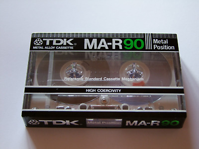 TDK MA-R, C-90, Tape/ Cassette/ Audio MC, sealed