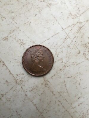 1967 Canadian one cent penny 1867 Anniversary coin - circulated