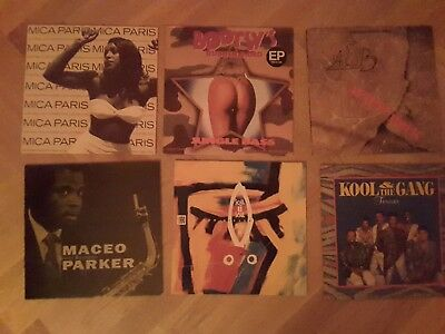 Funk Paket Maceo Parker, Bootsy Collins, Average White Band, Soul II Soul etc.