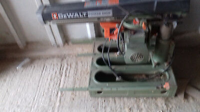 Dewalt DW 125 Radial Arm Saw