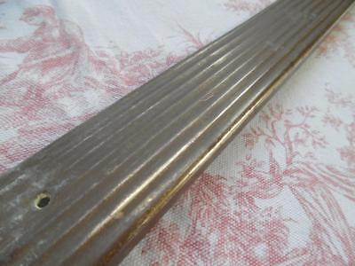 Genuine Antique French Brass Threshold / Step / Stair Cover