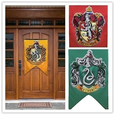 Harry Potter Houses of Hogwarts Flag Banner for Christmas Gift