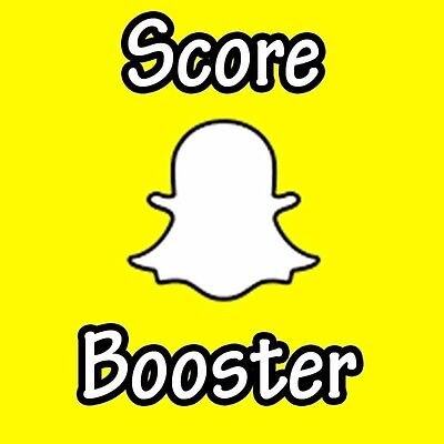 Snapchat Score Boost (+80,000) Fast And Reliable (YOUR ACCOUNT!)