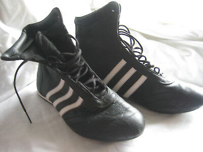 Womens Adidas Boxing Boots Size 7 Lightly Worn Excellent Condition Black