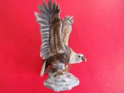 Vintage Eagle from Royal Crown - 6 Inch - Painted Porcelain very nice condition