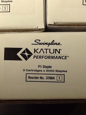 Canon Swingline Katun PerformanceP1 Staples(NEW)Konica Sharp 3 Cartridges x 5000