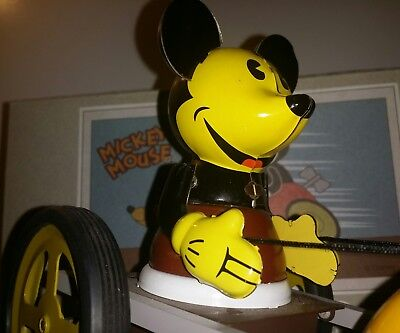 Blechspielzeug Sulky Mickey Mouse Young Epoch Disney Pluto