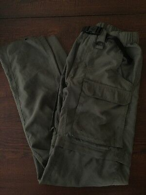BSA Boy Scouts of America Uniform Switchback Pants 100% Polyester Mens S Small