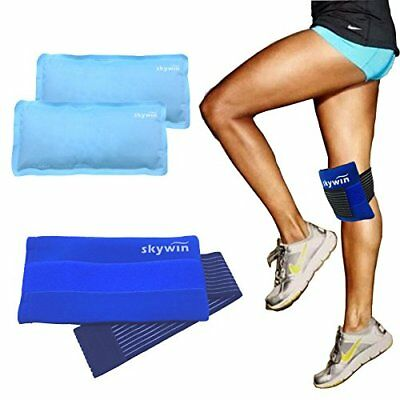 Injury Pain Relief Cold Hot Therapy Wrap Hand Foot Ankle Strap Reusable Ice Pack