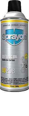 SPRAYON CUTTING OIL 12 oz. AEROSOL,24 CAN CASE, ONLY $134.89/CASE, FREE SHIPPING