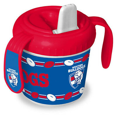 Western Bulldogs AFL Training Sipper Sippy Cup With 2 Easy Grip Handles Gift