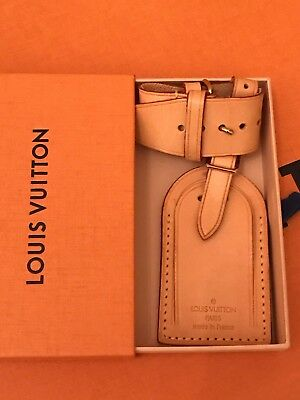 bdb97c3e6a AUTHENTIC LOUIS VUITTON Luggage Tag w  Box for Keepall