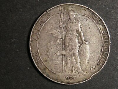 1907 Great Britain Florin
