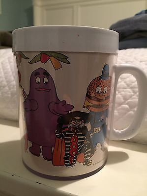 McDonalds MUG CUP Plastic ThermoServ 1978 Collectible