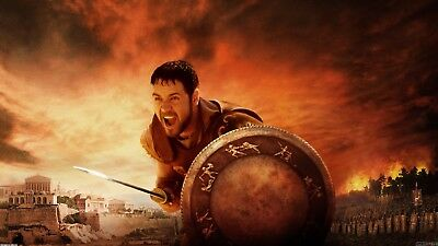 Gladiator Poster Length :800 mm Height: 500 mm SKU: 11624