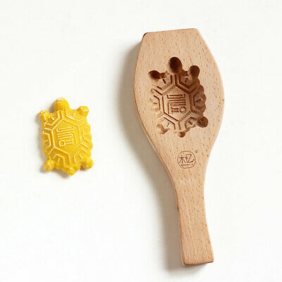 Wood Mold Cake Pastry Mould Making Tool DIY Cute Turtle Christmas Decoration