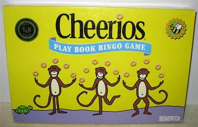 2000 Cheerios Play Book Bingo Game Briarpatch Ages 3 to 6