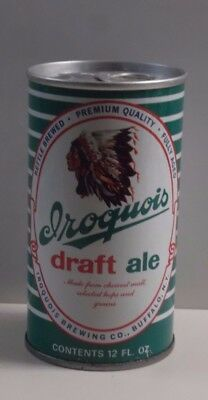 Iroquois Draft Ale. Iroquois Brewing Co. Buffalo NY Very Tough Tab Top