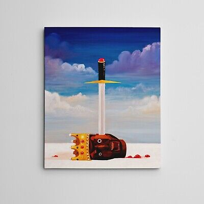 "Gallery Art Canvas- Kanye West My Beautiful Dark Twisted Fantasy ""Power"" Condo"