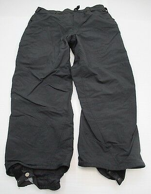 COLUMBIA #PA1448 Men's Size XL Insulated Snowboard CONVERT Snow Ski Black Pants