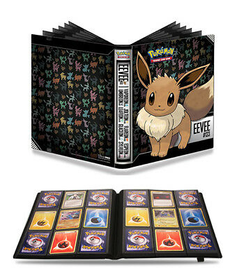 Pokemon Ultra Pro TCG 9 Pocket Pkt Premium Eevee A4 Folder Album Holds 360 Cards