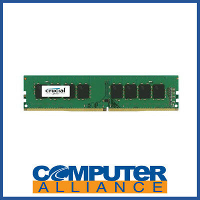 16GB DDR4 (1x16G) Crucial 2400Mhz ECC Unbuffered Server Memory PN CT16G4WFD824A
