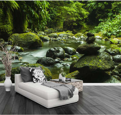 Clear Extensive Lake 3D Full Wall Mural Photo Wallpaper Printing Home Kids Decor